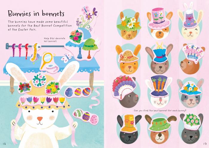 Little First Stickers Bunnies [2]