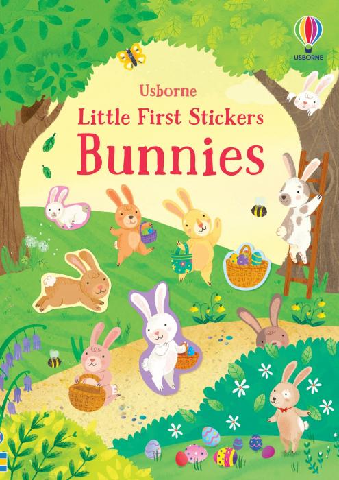 Little First Stickers Bunnies [0]