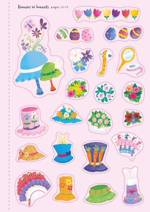 Little First Stickers Bunnies [1]