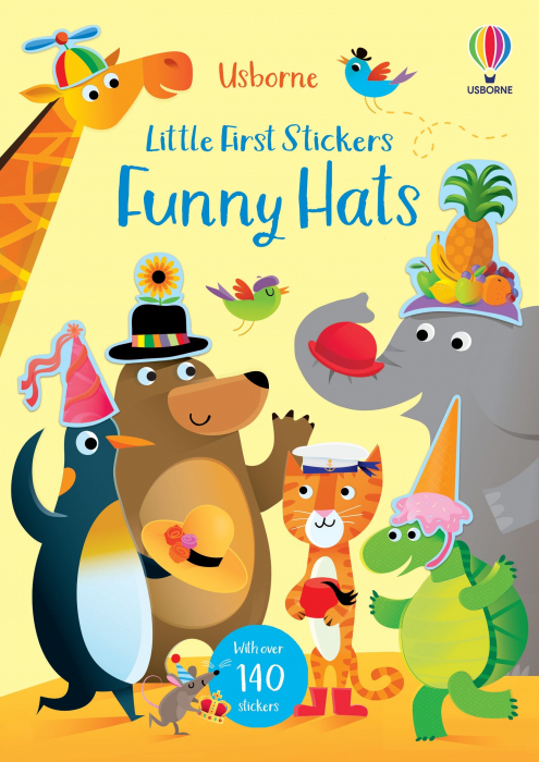 Little First Stickers Funny Hats [0]