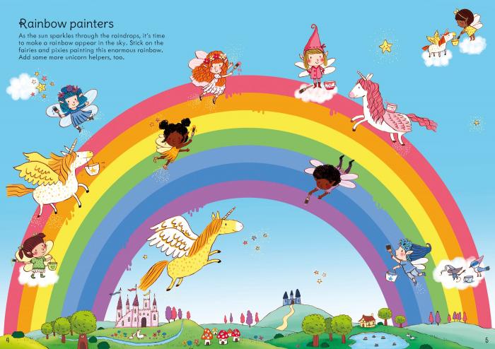 Little First Stickers Rainbows [3]