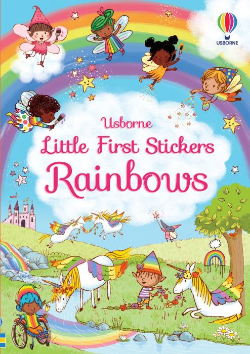 Little First Stickers Rainbows [0]