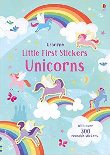 Little First Stickers Unicorns [0]