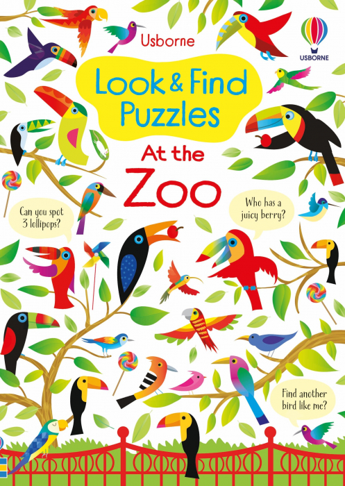 Look and Find Puzzles At the Zoo [0]