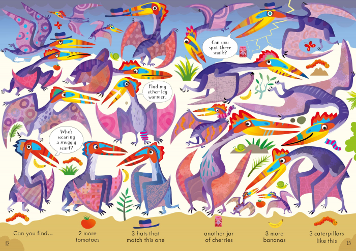 Look and Find Puzzles Dinosaurs [2]