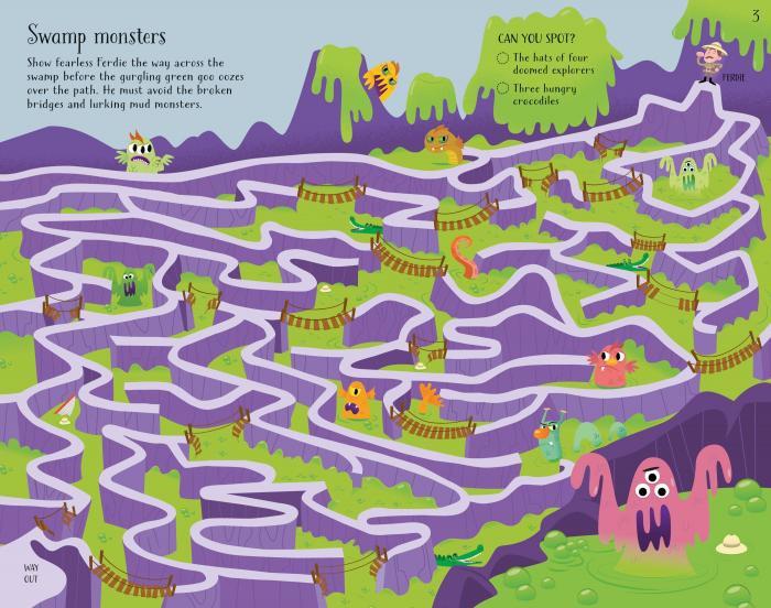 Maze Puzzles [6]