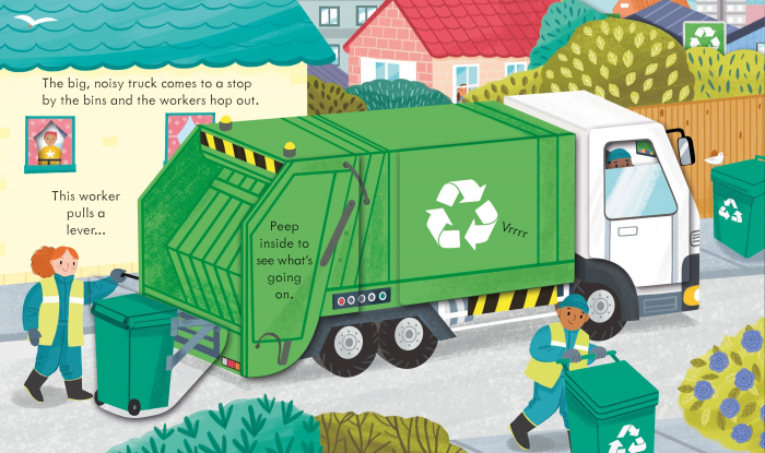 Peep Inside How a Recycling Truck Works [1]