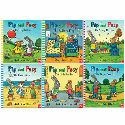 Pip and Posy Axel Scheffler Collection 6 Books Collection Set [0]