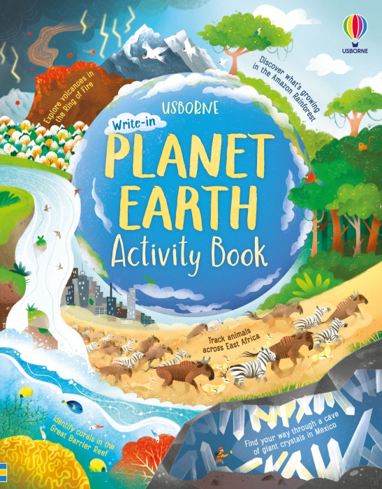 Planet Earth Activity Book [0]