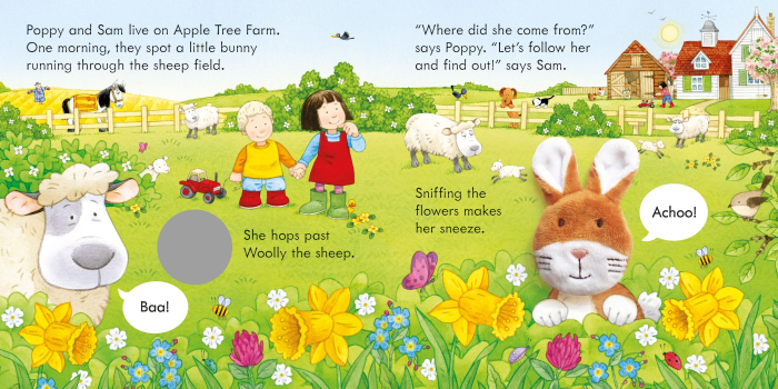 Poppy and Sam and the Bunny [2]