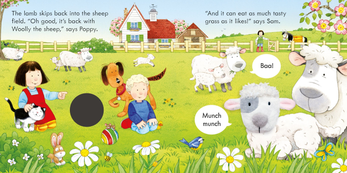Poppy and Sam and the Lamb [2]