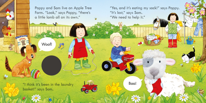 Poppy and Sam and the Lamb [3]