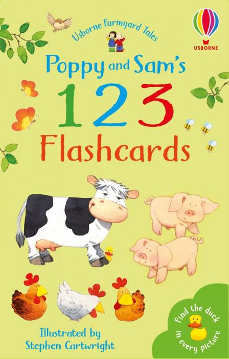 Poppy and Sam's 123 Flashcards [0]