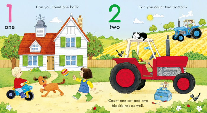Poppy and Sam's Counting Book [2]