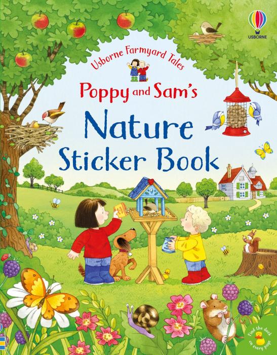 Poppy and Sam's Nature Sticker Book [0]