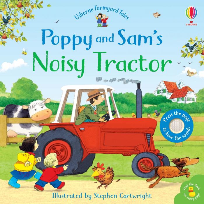 Poppy and Sam's Noisy Tractor [0]