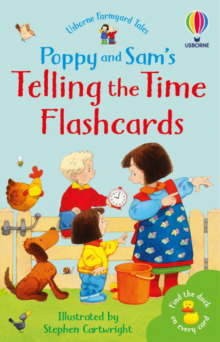 Poppy and Sam's Telling the Time Flashcards [0]