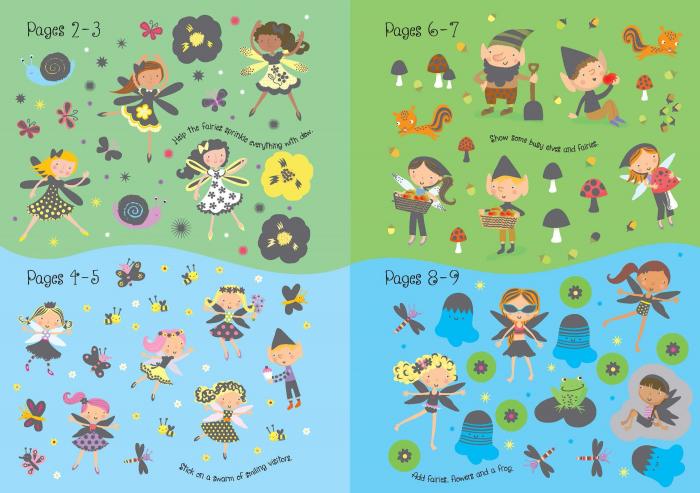Sparkly Fairies Sticker Book [1]
