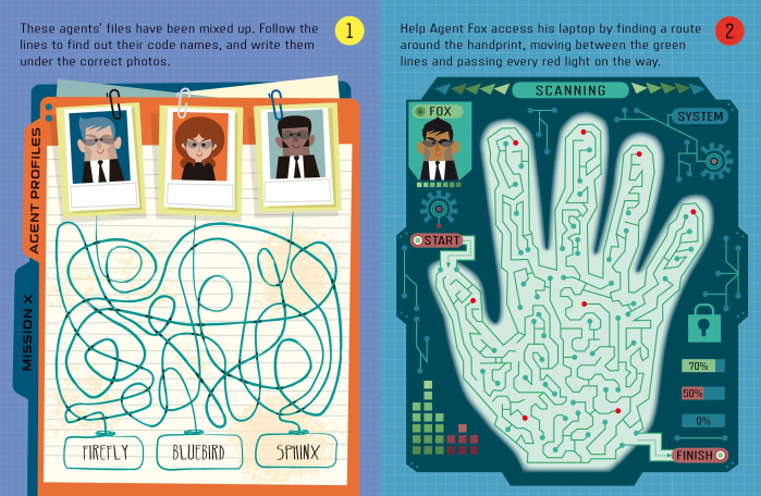 Spy Maze Puzzles [3]