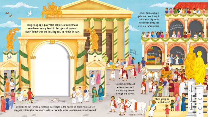 Step Inside Long Ago Ancient Rome [3]