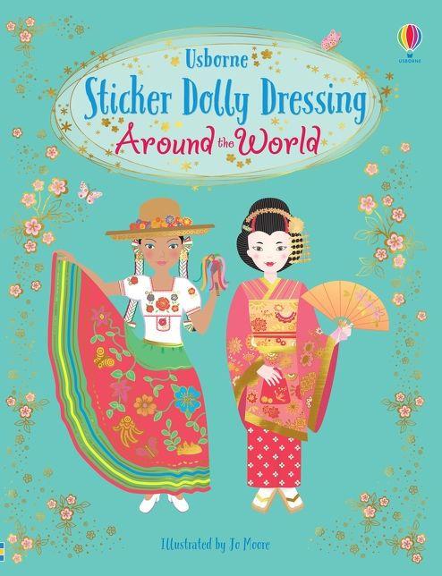 Sticker Dolly Dressing Around the World [0]