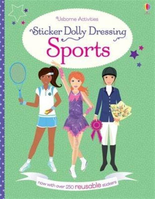 Sticker Dolly Dressing Sports [0]