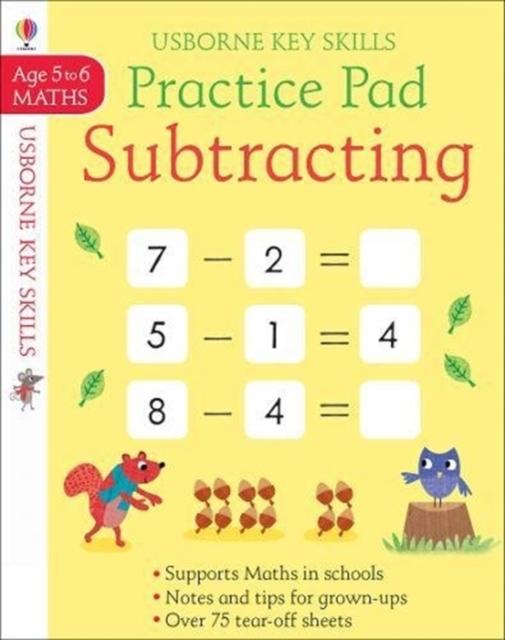 Subtracting Practice Pad 5-6 [0]