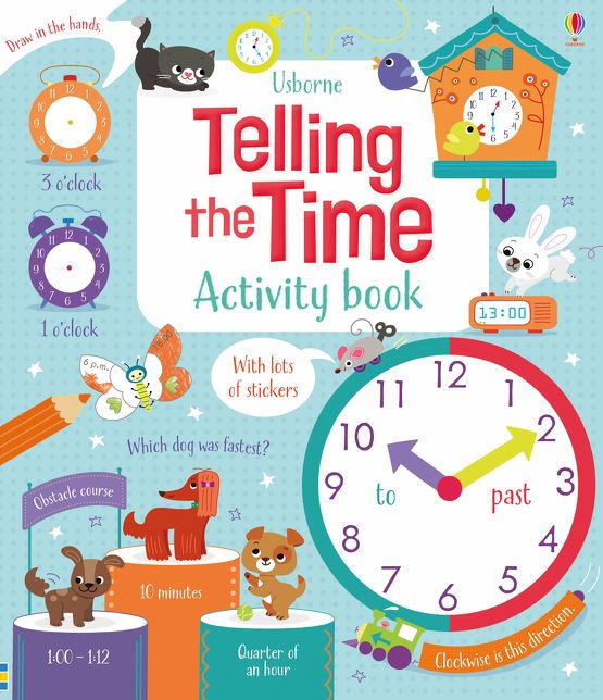 Telling the Time Activity Book [0]