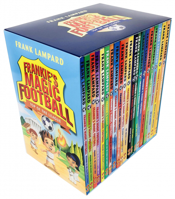 The Frankie's Magic Football Top of The League Series 20 Books Collection Box Set [0]
