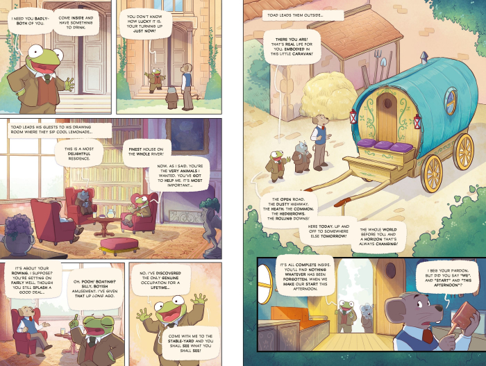 The Wind in the Willows Graphic Novel [2]