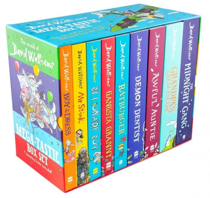 The World of David Walliams Mega-tastic 9 Books Box Set [0]