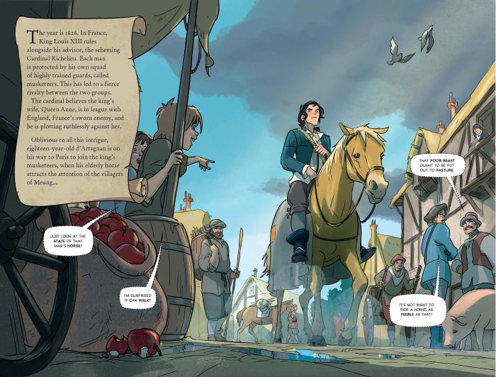 Three Musketeers Graphic Novel [1]