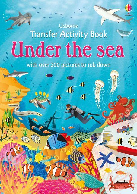 Transfer Activity Book Under the Sea [0]