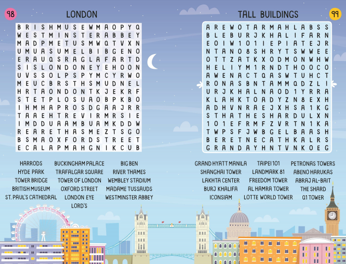 Travel Wordsearches [2]