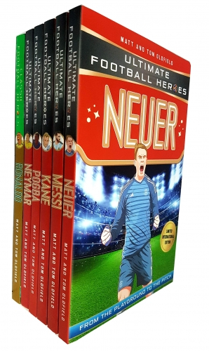 Ultimate Football Heroes 6 Books Collection Set [0]