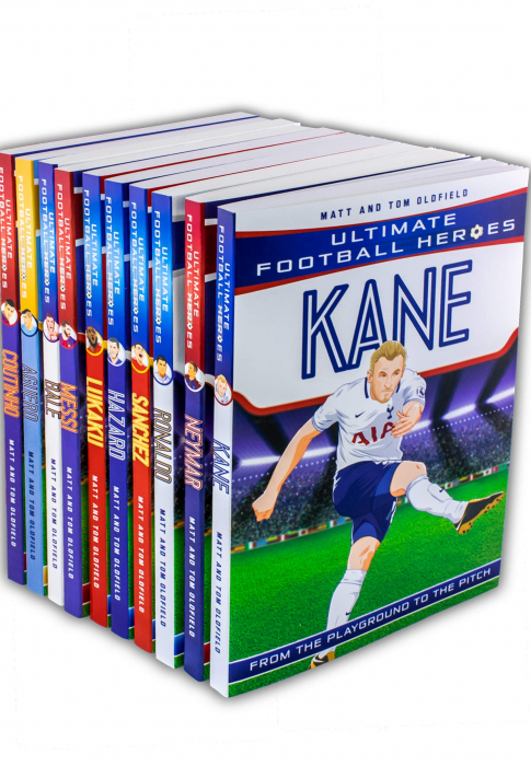 Ultimate Football Heroes Collection 10 Books Set [0]