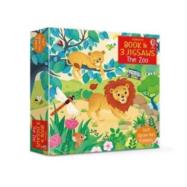 Usborne Book & 3 Jigsaws: The Zoo [0]