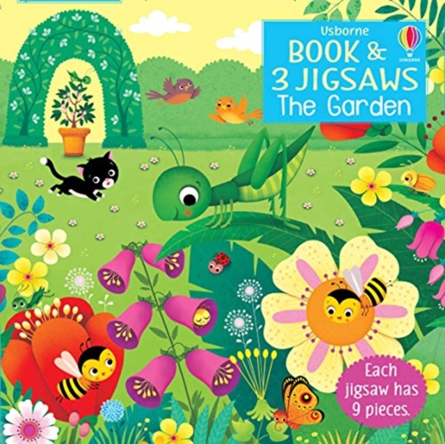 Usborne Book and 3 Jigsaws: The Garden [0]