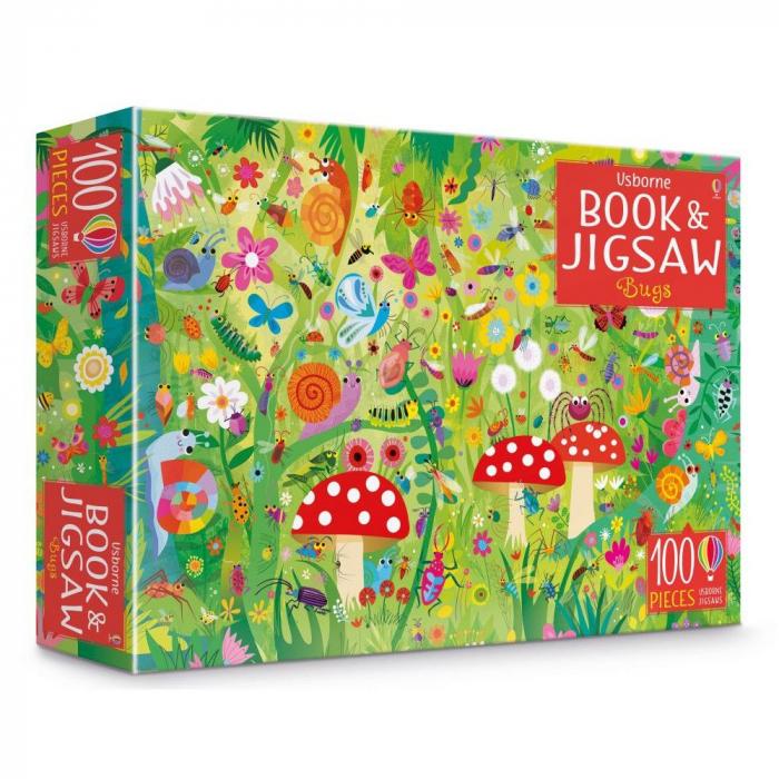Usborne Book and Jigsaw Bugs [0]