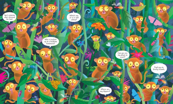 Usborne Book and Jigsaw In the Jungle [2]