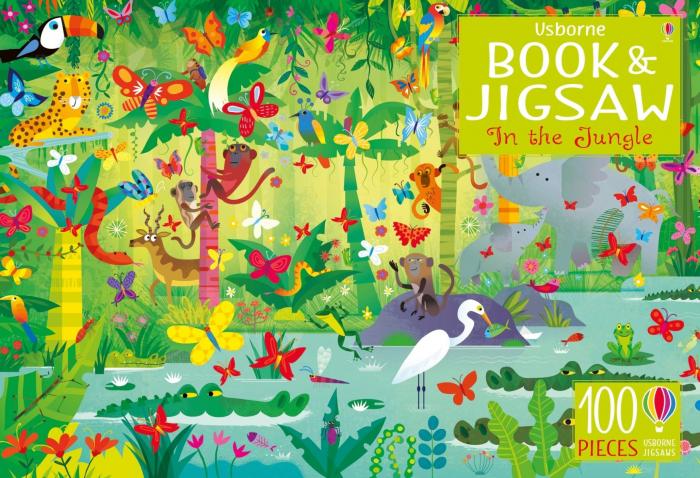 Usborne Book and Jigsaw In the Jungle [0]