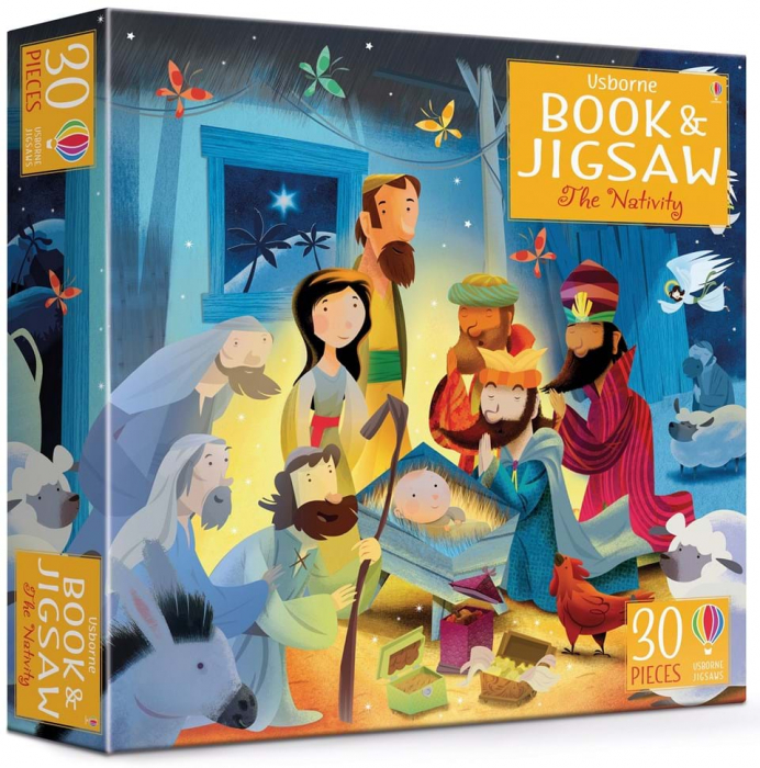 Usborne Book and Jigsaw The Nativity [0]