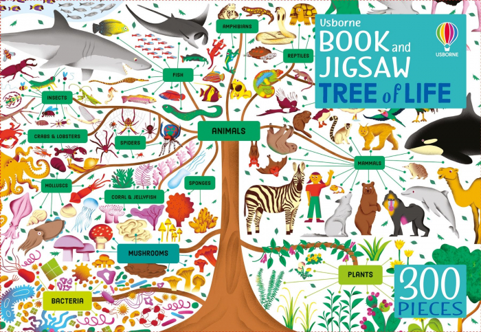 Usborne Book and Jigsaw: Tree of Life [0]