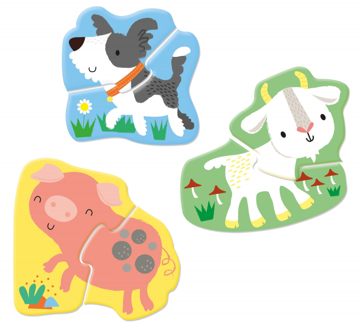 Usborne First Jigsaws: Farm Animals [4]