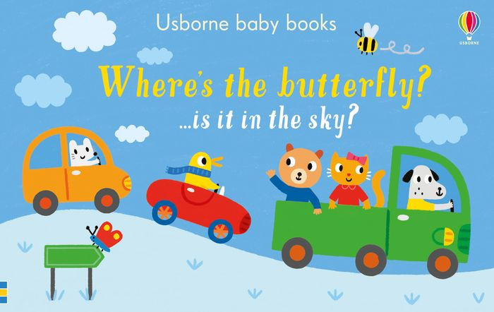 Where's the butterfly? …is it in the sky? [0]