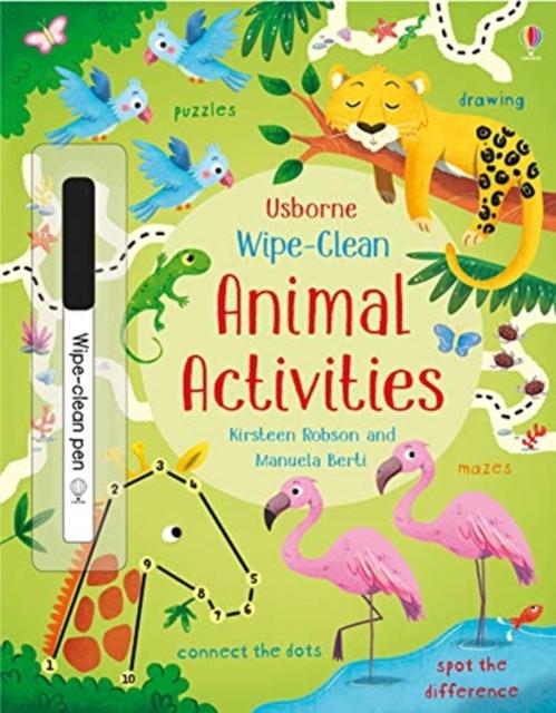 Wipe-Clean Animal Activities [0]