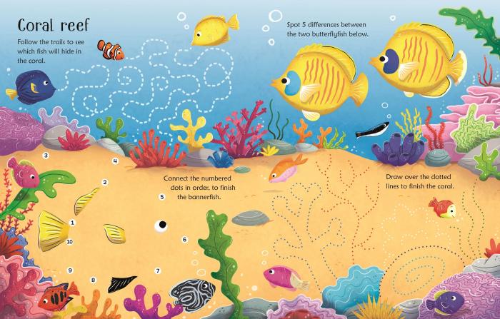 Wipe-Clean Aquarium Activities [1]