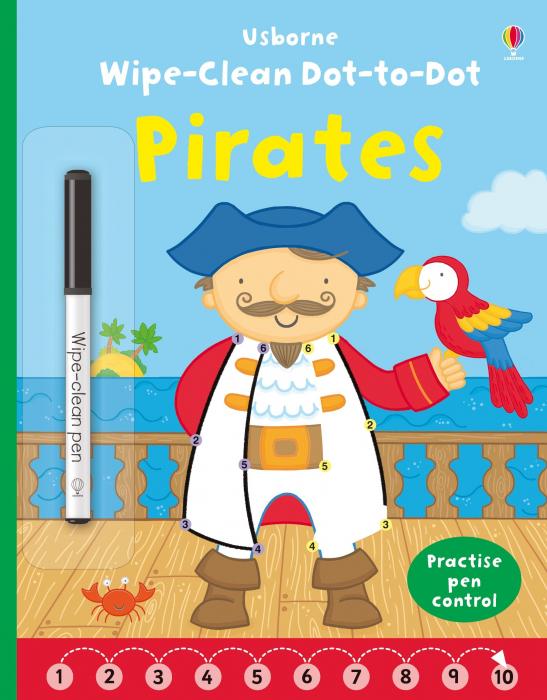 Wipe-clean Dot-to-dot Pirates [0]