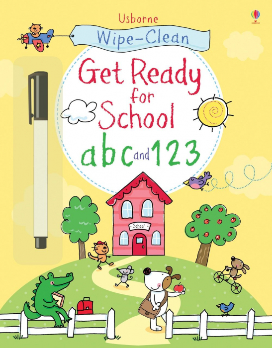 Wipe-clean Get Ready for School abc and 123 [0]