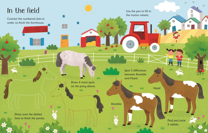 Wipe-Clean Horse and Pony Activities [1]